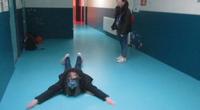 Nager dans un couloir bleu / Barbara PERSON / BFE 2017