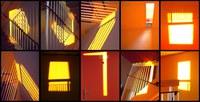 Les espaces  changeant de couleurs