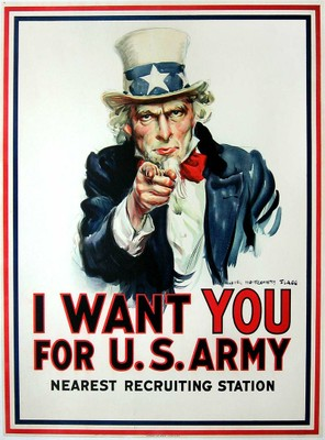 James Montgomery Flagg - I Want You for the US Army, 1917