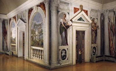 Paul VERONESE - Fresques Villa Barbaro à Maser - Italie1560-1561